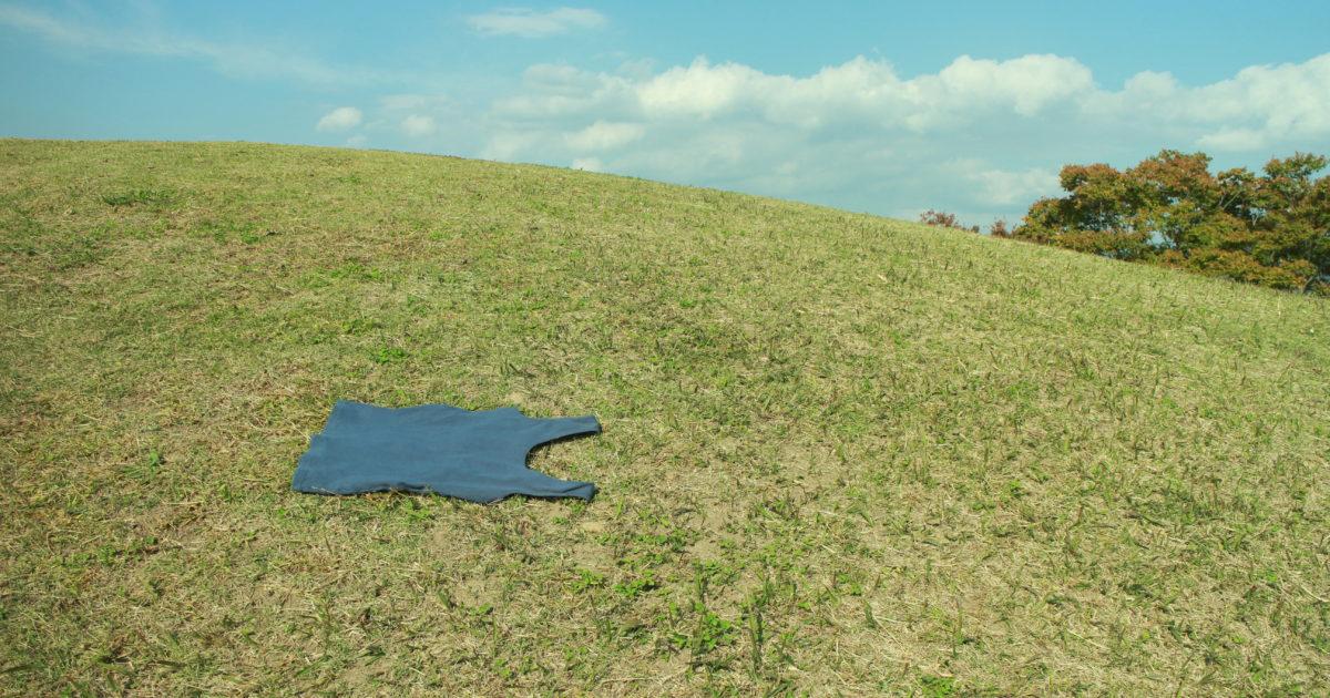 野原とタンクトップ